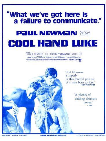 Cool Hand Luke, 1967 Art Print