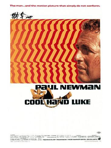 Cool Hand Luke, 1967 Art Print