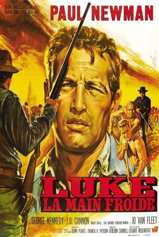 Cool Hand Luke - French Style Poster