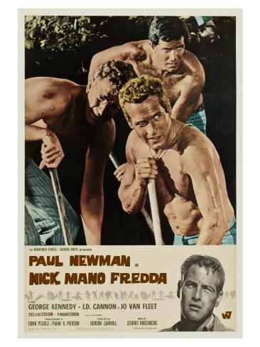Cool Hand Luke, Italian Movie Poster, 1967 アートプリント