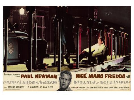 Cool Hand Luke, Italian Movie Poster, 1967 Stampa artistica
