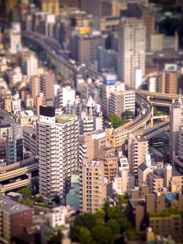 Miniature Roppongi Photographic Print
