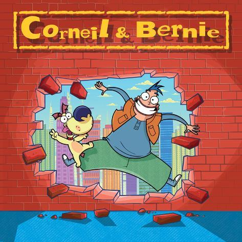 Corneil and Bernie are Breaking Through Poster