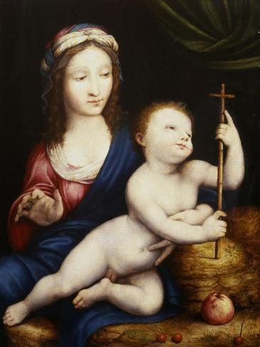 The Madonna and Child Impressão giclée