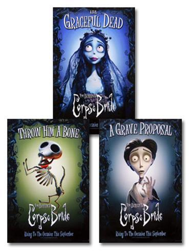 Corpse Bride Poster Set