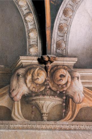 Frescoes in the Camera della Badessa Lámina