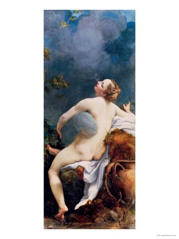 Jupiter and Io Giclee Print