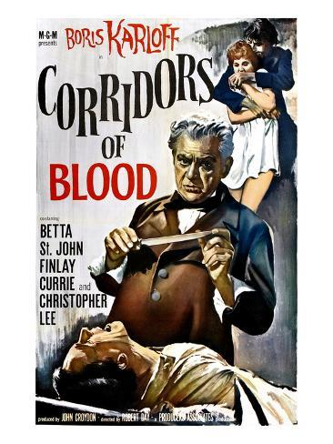 Corridors of Blood, Boris Karloff, 1958 写真