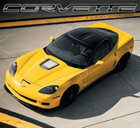 Corvette - 2014 Calendar Calendars