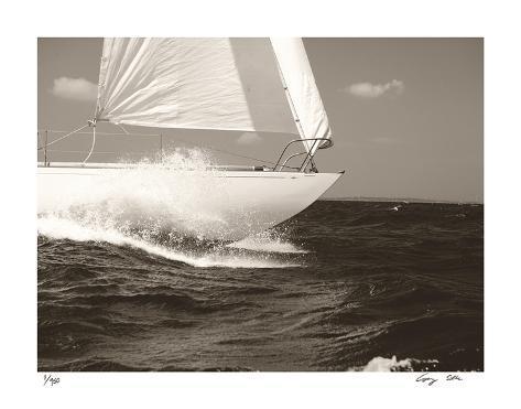 Gleam Racing I Giclee Print
