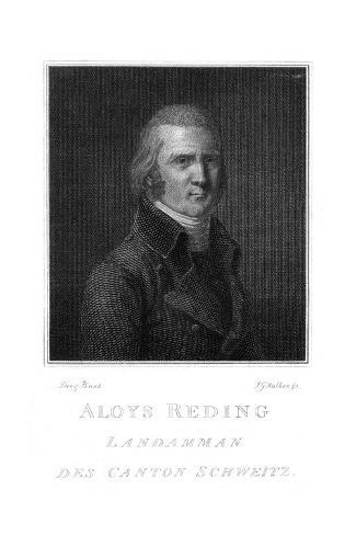 Count Aloys Reding Stampa giclée