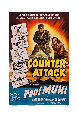 Counter-Attack Giclee Print