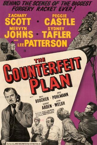 Counterfeit Plan (The) Lámina