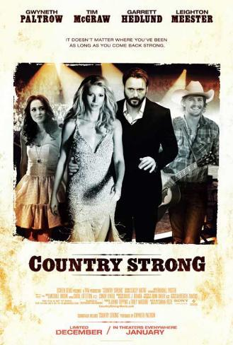 Country Strong Stampa master