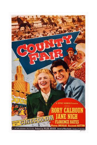 County Fair Giclee Print