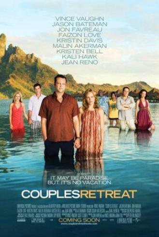 Couples Retreat Double-sided poster