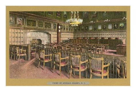 Court of Appeals, Albany, New York Art Print