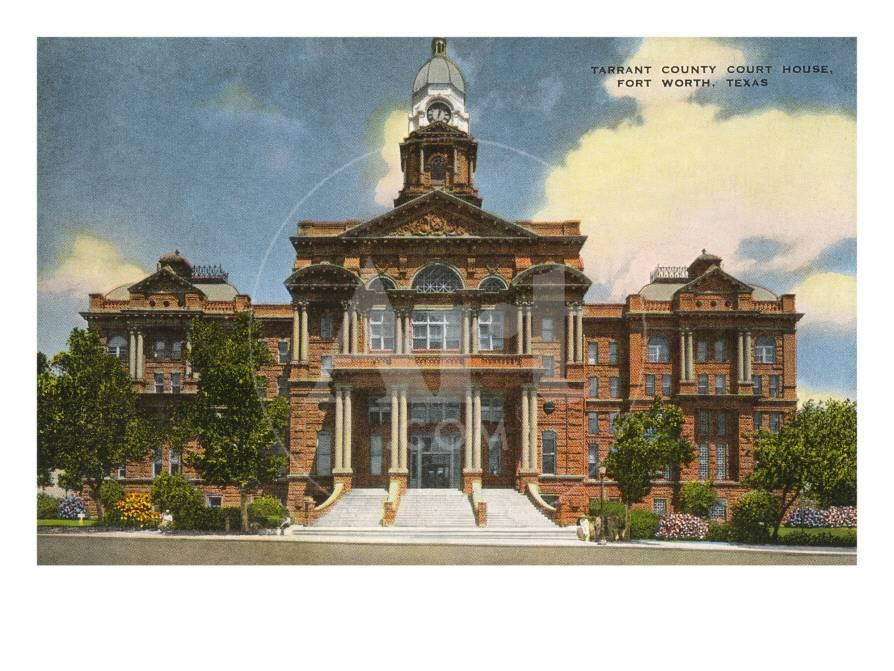Courthouse Fort Worth Texas Photo At AllPosters