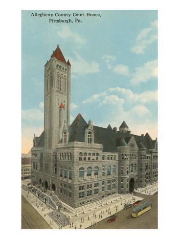 Courthouse, Pittsburgh, Pennsylvania Art Print