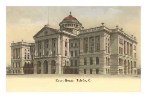 Courthouse, Toledo, Ohio Art Print