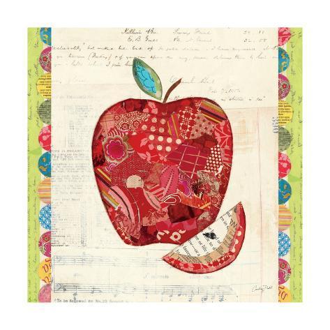 Fruit Collage I Taidevedos