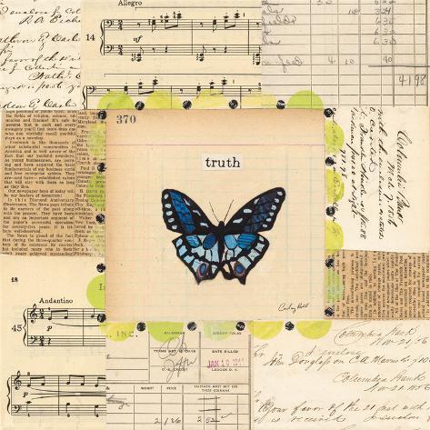 Truth Butterfly Art Print