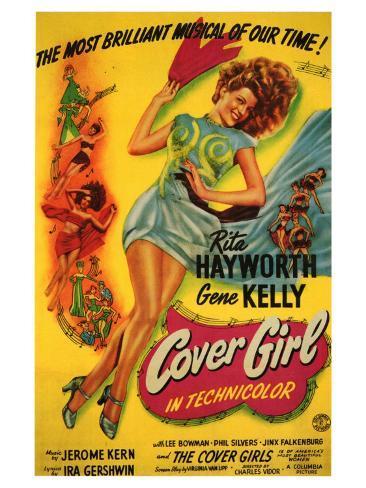 Cover Girl, 1944 Art Print