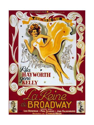 Cover Girl (La Reine De Broadway) De Charlesvidor Avec Rita Hayworth, Lee Bowman, 1944 Art Print