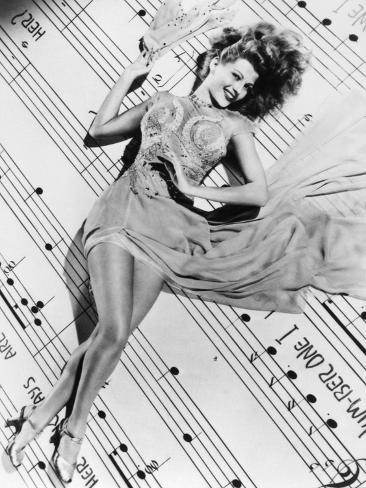 Cover Girl, Rita Hayworth, 1944 Photographic Print