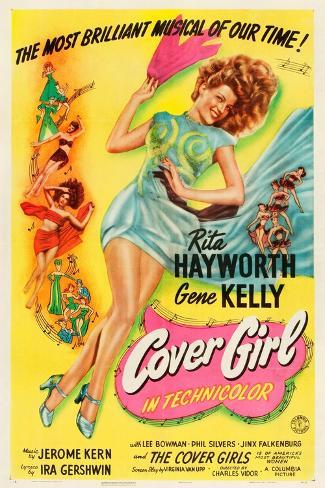 Cover Girl, Rita Hayworth, 1944 Art Print