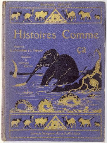 Cover of Kipling's Histoires Comme Ca by Rudyard Kipling Giclee Print