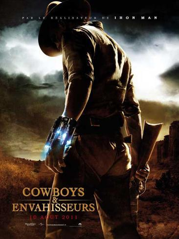Cowboys & Aliens - French Style Poster Masterprint