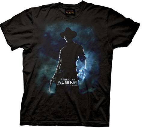Cowboys & Aliens - Movie Poster T-Shirt