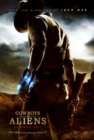 Cowboys And Aliens (Harrison Ford, Daniel Craig) Movie Poster Dubbelsidig poster