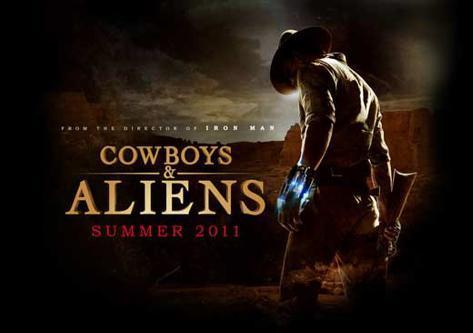Cowboys and Aliens マスタープリント