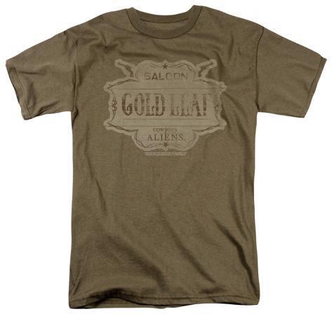 Cowboys vs. Aliens - GoldLeaf T-Shirt
