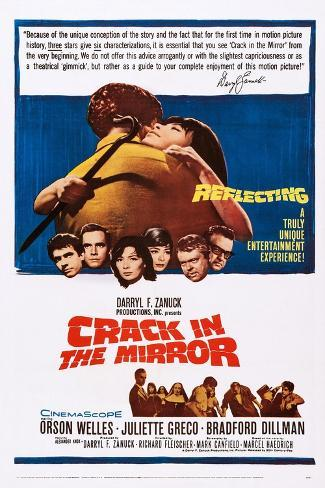 Crack in the Mirror Art Print