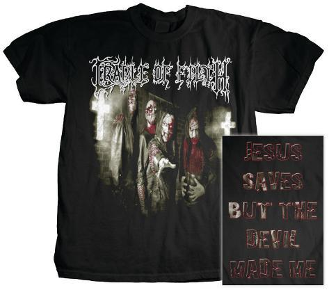 Cradle of Filth - Jesus Saves T-Shirt