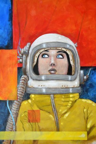 Interstellar-inga Giclee Print