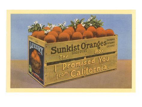 Crate of Oranges from California Taidevedos