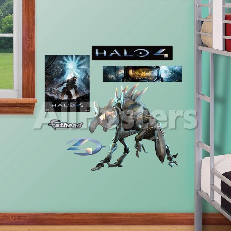 Crawler Halo 4 Fathead Jr Wall Decal Sticker Wall Decal