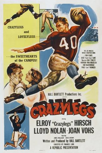 Crazylegs, Elroy Hirsch, 1953 Art Print