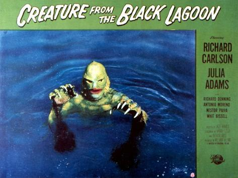 Creature from the Black Lagoon, 1954 写真