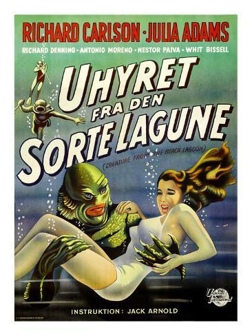 Creature from the Black Lagoon, (aka Uhyret Fra Den Sorte Lagune), Julie Adams, 1954 写真