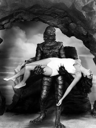 Creature from the Black Lagoon, Julia Adams, 1954 Photo