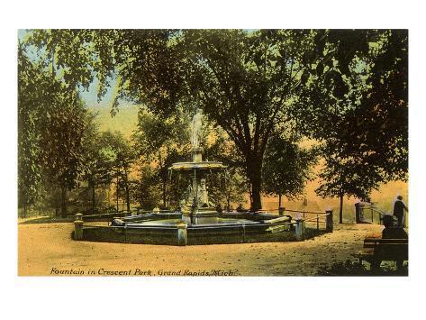 Crescent Park, Grand Rapids, Michigan Art Print