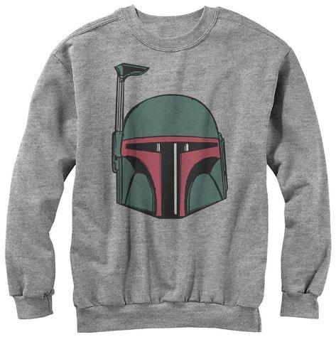 Crewneck Sweater: Star Wars- Mandalorian Helmet Crewneck Sweatshirt