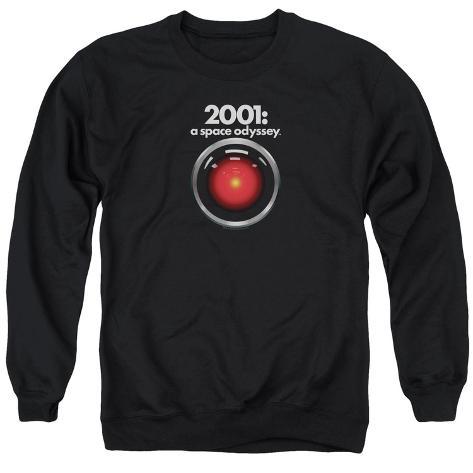 Crewneck Sweatshirt: 2001 A Space Odyssey/Hal 9000 Crewneck Sweatshirt