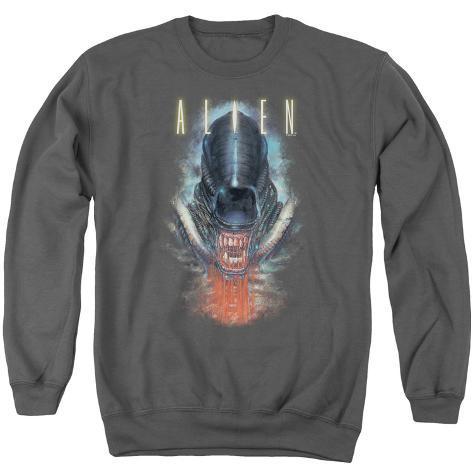 Crewneck Sweatshirt: Alien - Bloody Jaw Crewneck Sweatshirt
