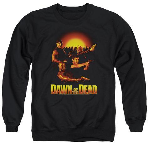 Crewneck Sweatshirt: Dawn Of The Dead- Dawn Collage Crewneck Sweatshirt